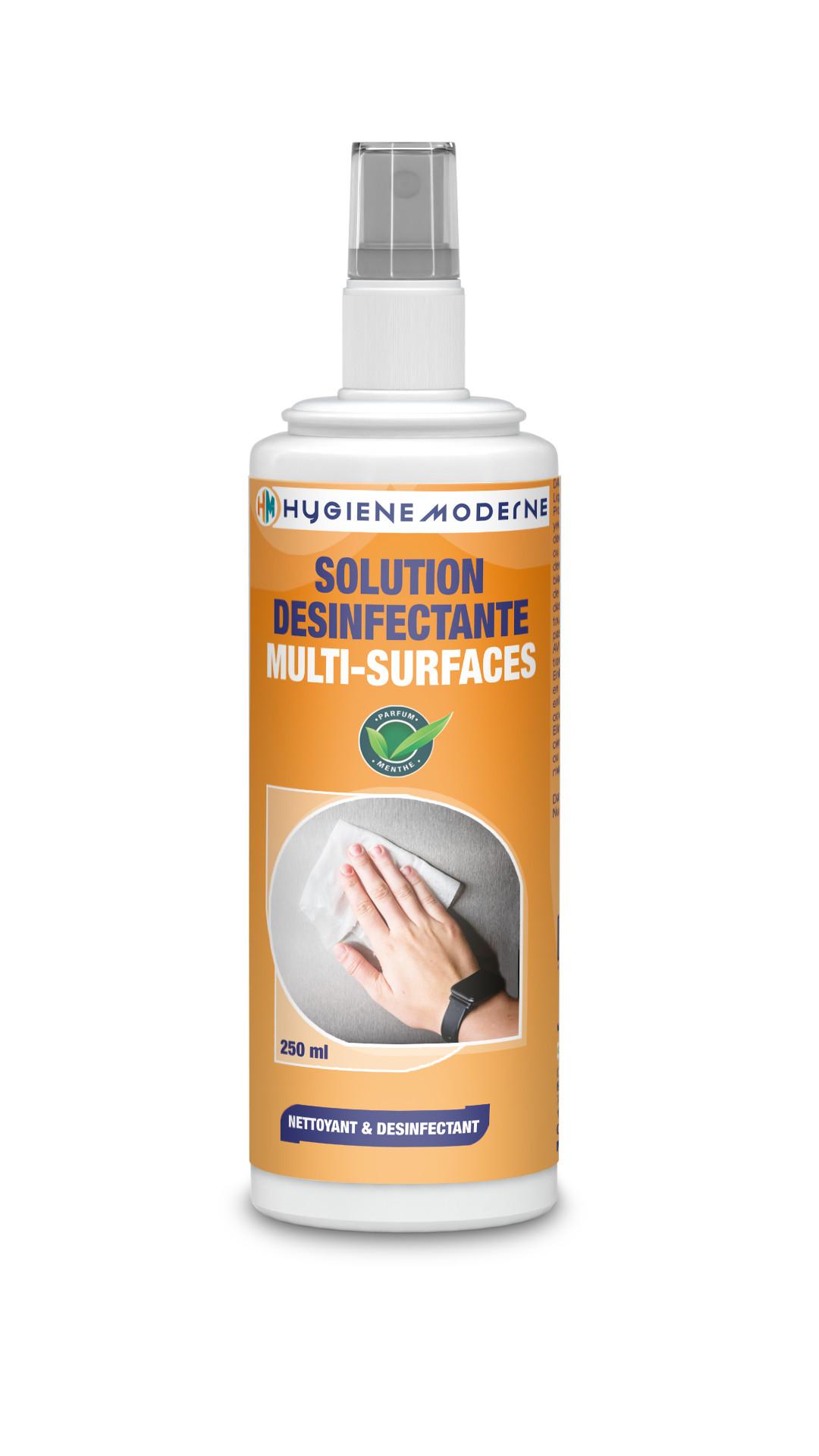 HYGIENE MODERNE Solution désinfectante multi-surface 250 ml