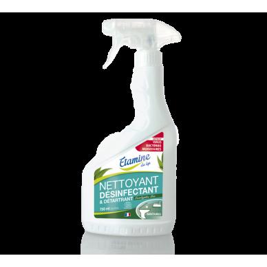 Nettoyant désinfectant et détartrant - 750 ml