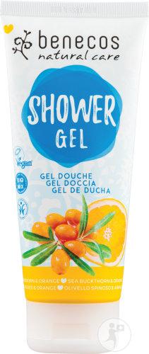 Gel douche Benecos Bio Argousier et orange 200 ml