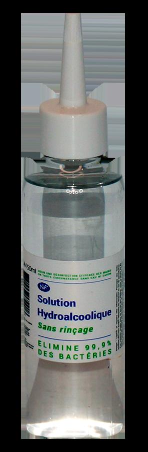 Solution liquide hydroalcoolique 150 ml