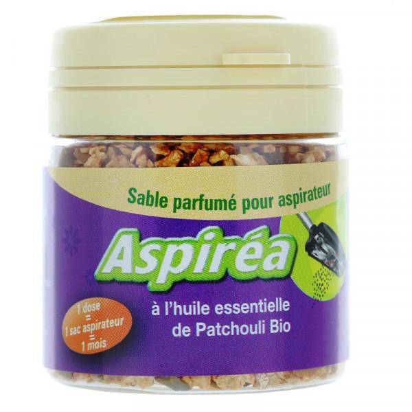 Sable parfumé pour aspirateur à l\'huile essentielle de Patchouli Bio 60g