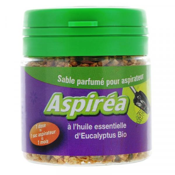 Sable parfumé pour aspirateur à huile essentielle d\'eucalyptus Bio 60g