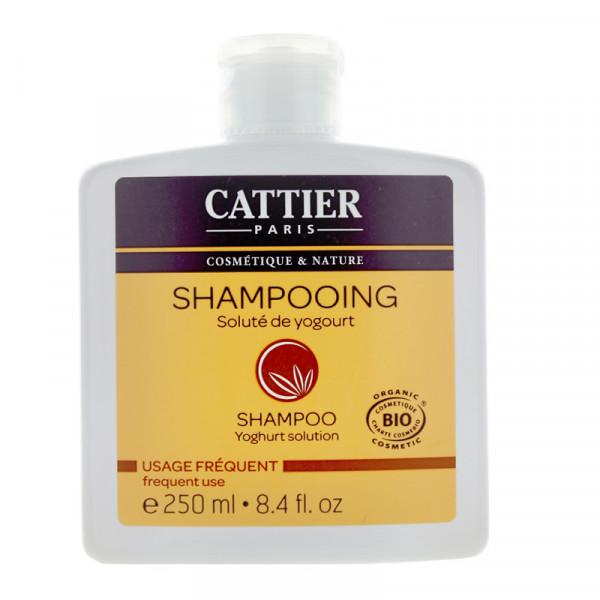 CATTIER BIO Shampooing au soluté de yogourt Usage Fréquent Flacon de 250ML.