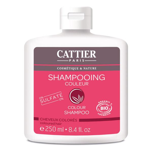 CATTIER BIO Shampooing Couleur sans Sulfate Cheveux Colorés. Flacon de 250 ML