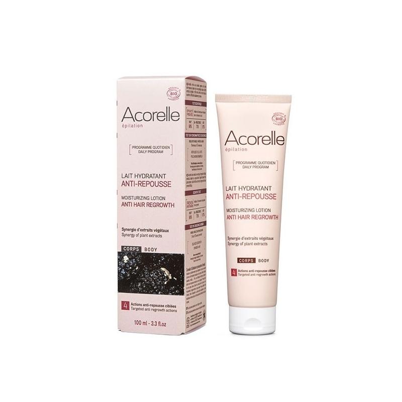 acorelle lait hydratant anti-repousse-corps-75ml