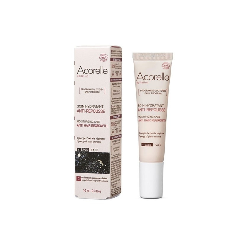 ACORELLE Soin hydratant anti-repousse visage 10ML