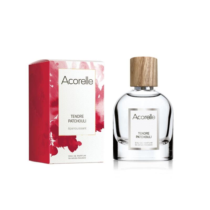 ACORELLE Eau de parfum tendre Patchouli bio, 50ML