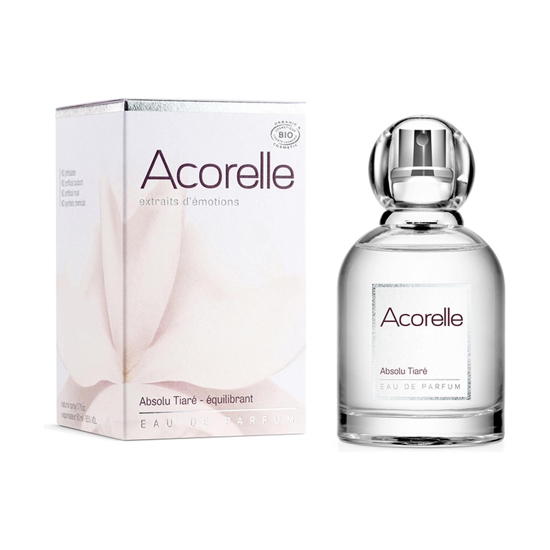 ACORELLE eau de parfum Absolue Tiare Bio équilibrant 50ML