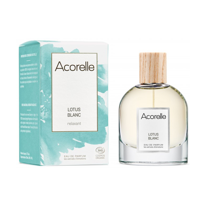 ACORELLE Eau de parfum Rêve de lotus Bio 50ML