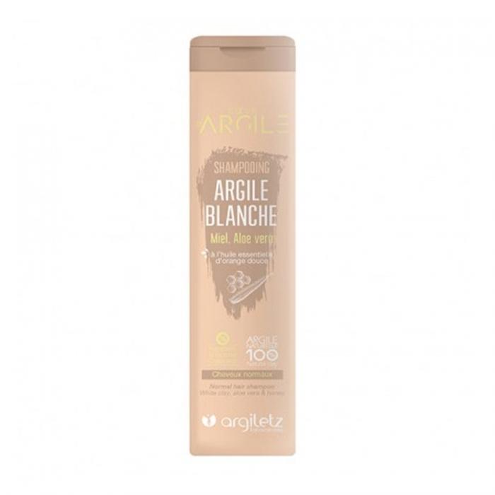ARGILETZ Shampooing argile blanche, pour cheveux normaux 200ML