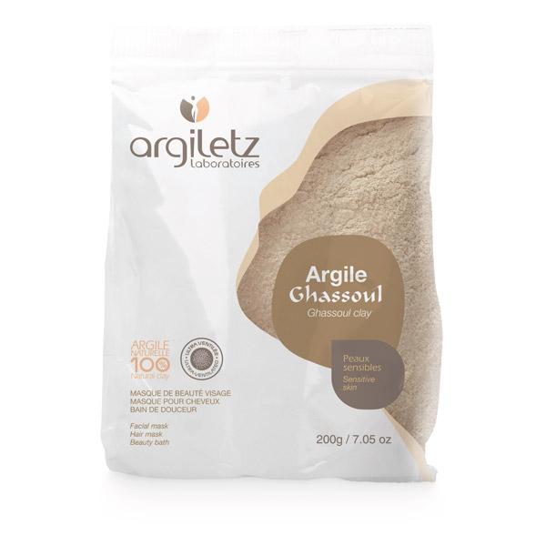 Argile Ghassoul ultra ventilé Argiletz 200g
