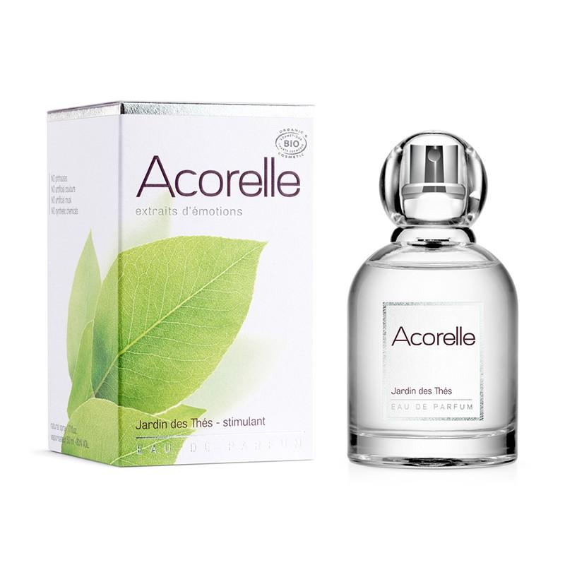 Eau de parfum Jardin des Thés BIO Acorelle - 50 ml