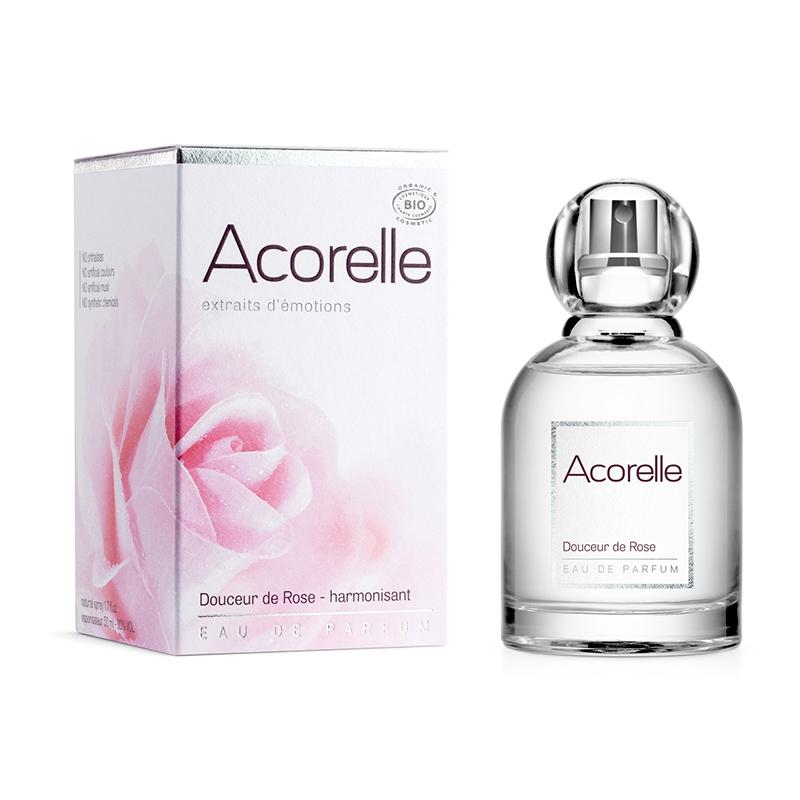 Eau de parfum Douceur de rose Bio Acorelle 50 ML