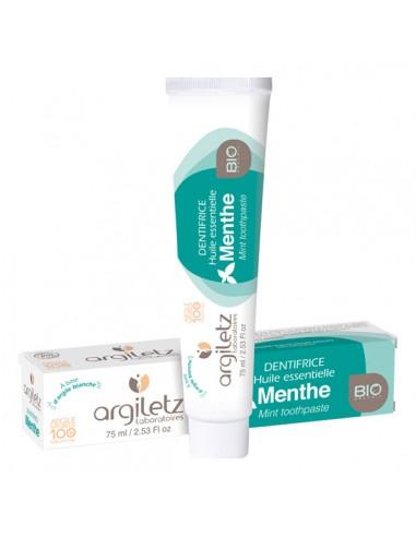 Dentifrice a L\'huile essentielle de menthe Bio 75ml