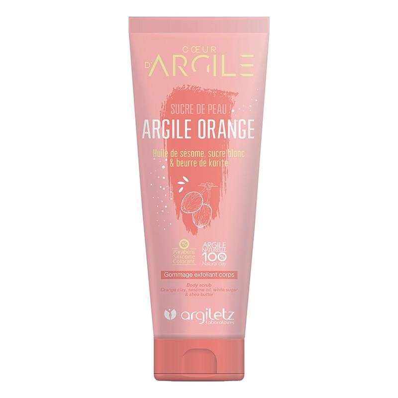 ARGILETZ Nectar gommage exfoliant corps huile de sésame ,sucre blanc,& beurre de karité - tube 200 ml