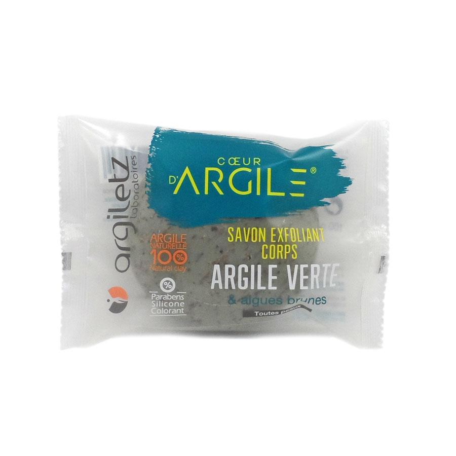 ARGLETZ Savon Exfoliant argile verte - 100 g