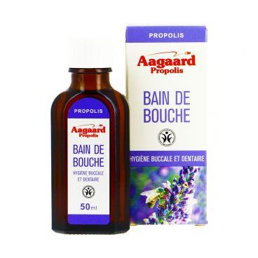 Aagaard Propolis Bain de Bouche Hygiéne Buccale et Dentaire Flacon  50 ML