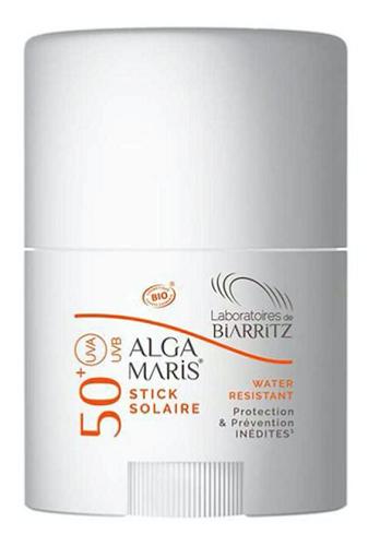 Alga Maris Laboratoires de BIARRITZ BIO Stick Solaire UVA/UVB 50+ Visage Zones sensibles  Stick 25G