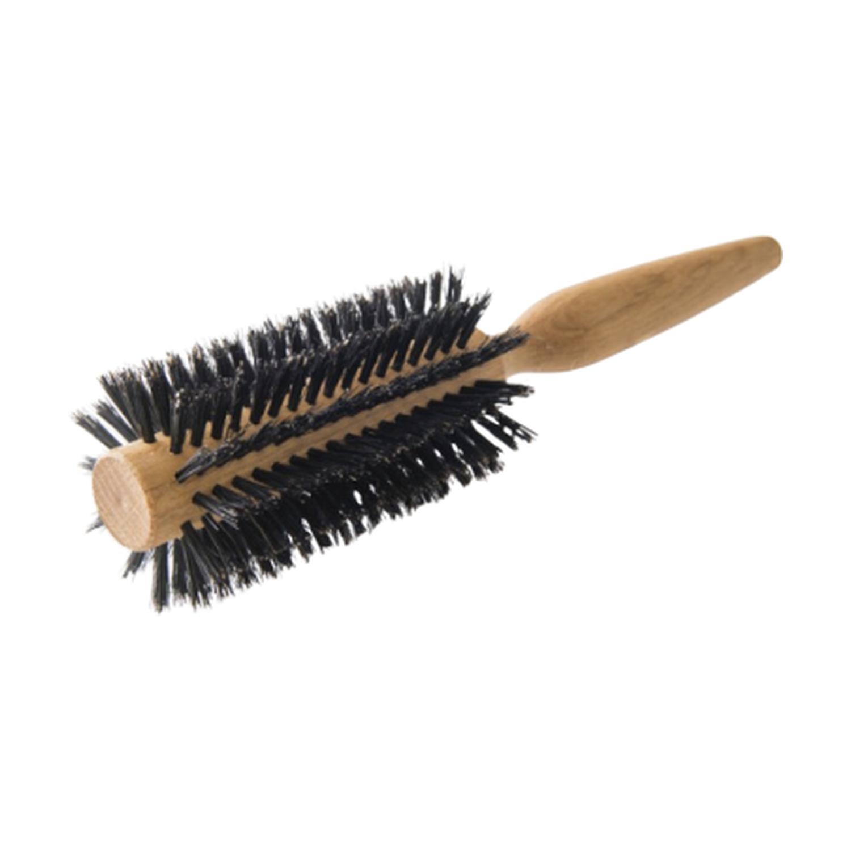 1845 Brosse à cheveux ronde, soies de sanglier et nylon
