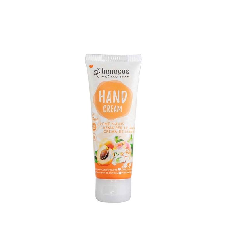 BENECOS Crème mains abricot & fleur de sureau BIO - tube 75 ml