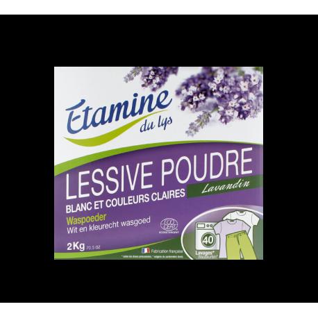 ETAMINE DU LYS Lessive poudre spéciale blanc 2 kg