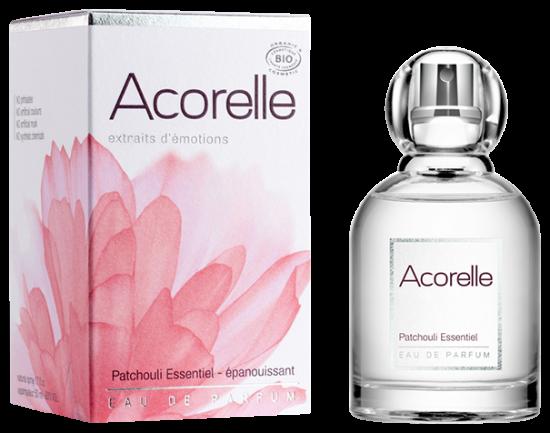 ACORELLE Eau de parfum Patchouli Essentiel BIO Végan flacon de 50 ml