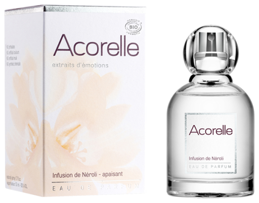 ACORELLE Eau de parfum Infusion de Néroli BIO Flacon 50 ml
