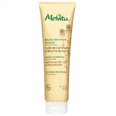 MELVITA Baume démêlant douceur - tous types cheveux BIO - tube 150 ml