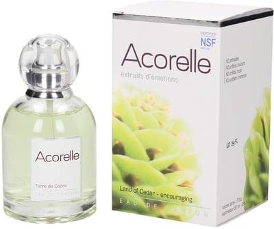 ACORELLE Eau de parfum Terre de Cèdre BIO Flacon de 50 ml