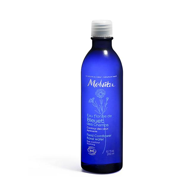 MELVITA Eau florale de bleuet BIO - flacon 200 ml