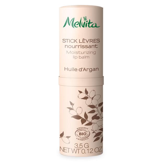 MELVITA L\'Argan Bio, Stick lèvres nourrissant BIO - 3,5 g
