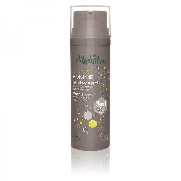 MELVITA Gel visage global 3 en 1 BIO - flacon 50 ml