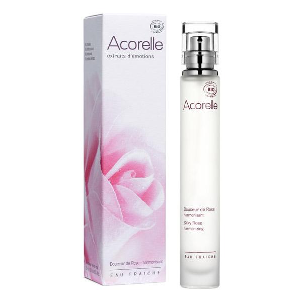 ACORELLE Eau fraiche Douceur de Rose BIO - spray 30 ml