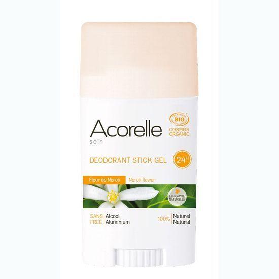Acorelle Déodorant gel fleur de néroli BIO  stick 40 g