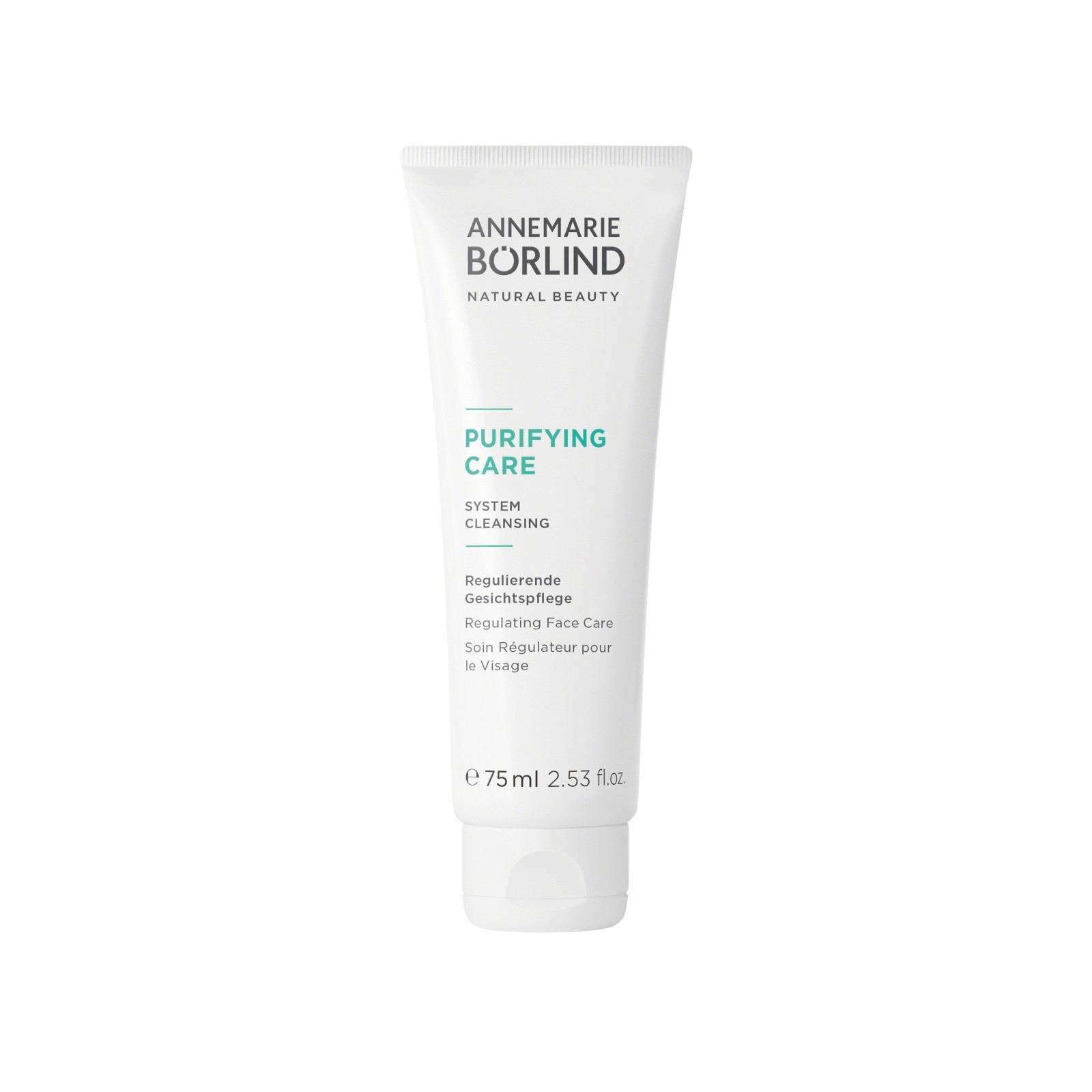 AnneMarie BÖRLING Purifying Care, Crème pour le visage - tube 75 ml