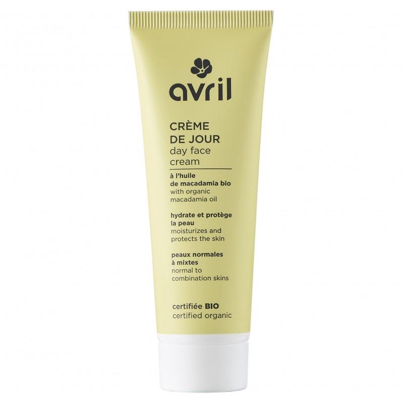 AVRIL BIO Crème de jour peaux normales et mixtes Bio - tube 50 ml