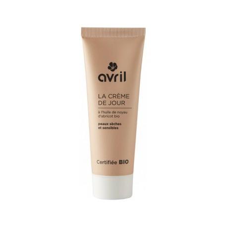 AVRIL BIO  Crème de jour peaux sèches et sensibles Bio - tube 50 ml