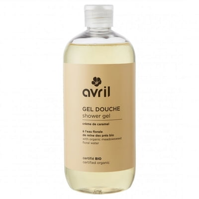 AVRIL  Gel douche Crème de caramel BIO - 500 ml
