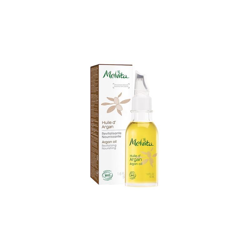 huile-d-argan-bio-50ml-melvita flacon plume