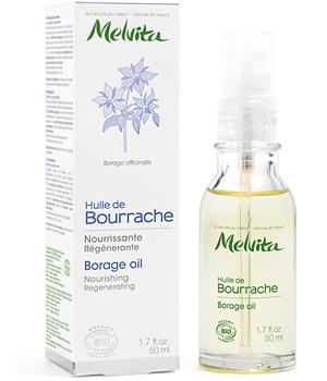 MELVITA  Huile de bourrache BIO - flacon pompe 50 ml