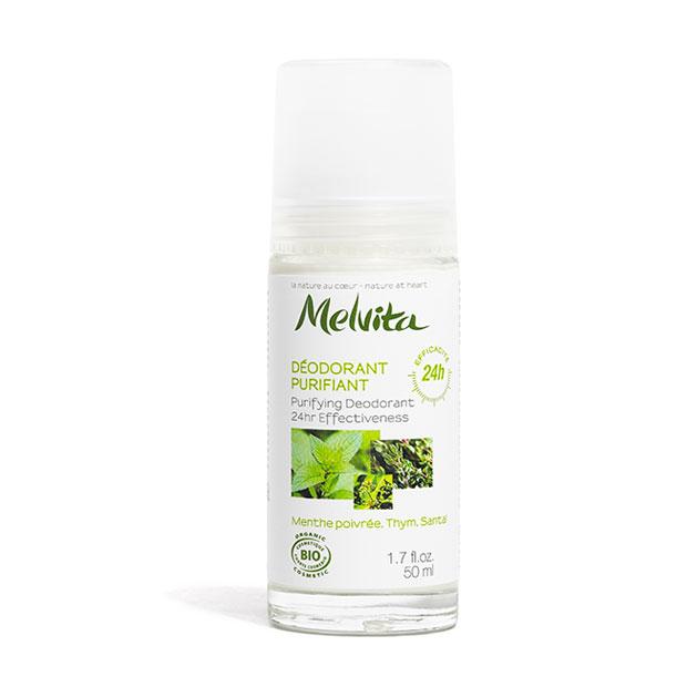 Melvita Déodorant purifiant efficacité 24h BIO - roll on 50 ml