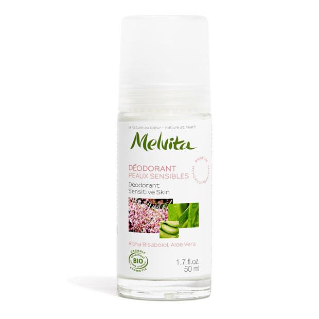 MELVITA Déodorant peaux sensibles BIO - 50 ml