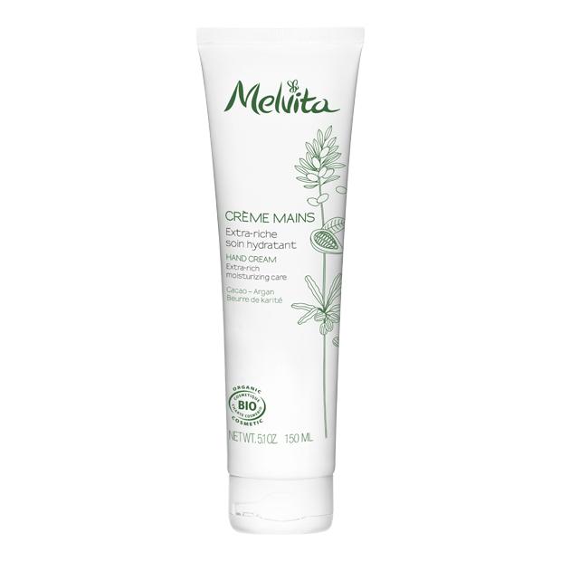 Melvita Crème mains extra riche BIO - tube 150 ml