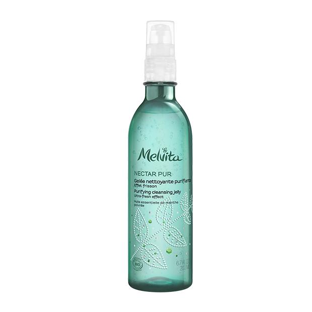 Melvita Nectar Pur : Gelée nettoyante purifiante BIO - flacon pompe 200 ml