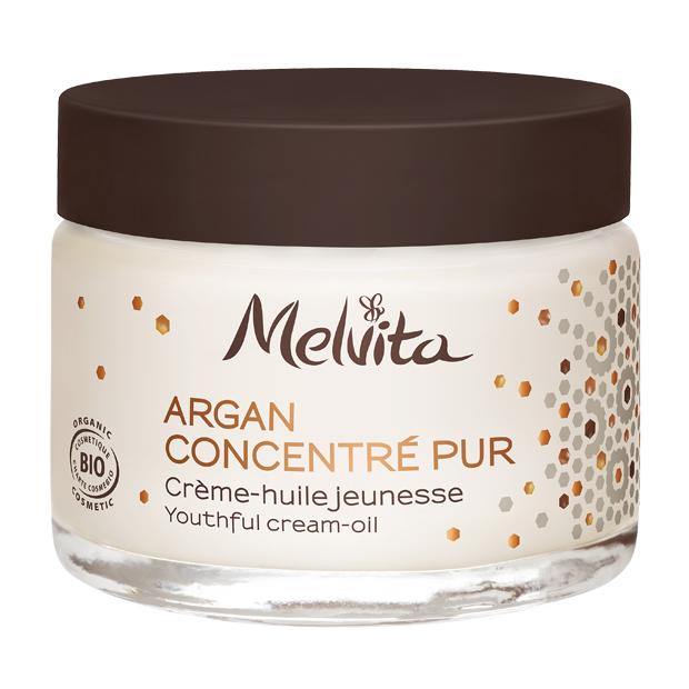 MELVITA Crème huile jeunesse BIO - pot 50 ml