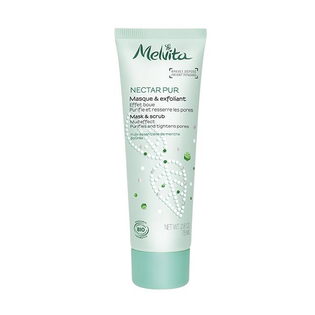Melvita Nectar Pur : Gommage et masque purifiant BIO - tube 75 ml