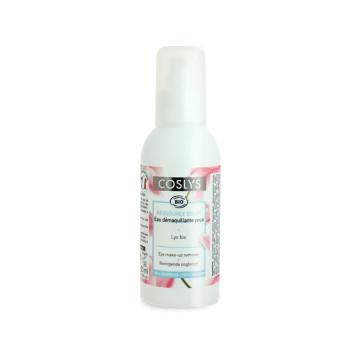 COSLYS Eau démaquillante yeux à l\'eau florale de Lys Bio 125 ml