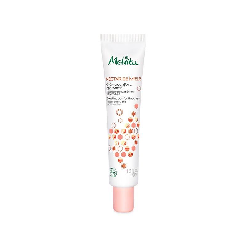MELVITA Crème confort apaisante BIO -flacon pompe 40 ml