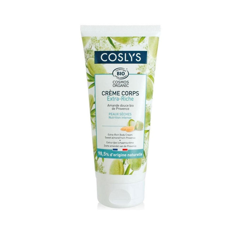 COSLYS Crème corps extra riche Amande douce - 200 ml