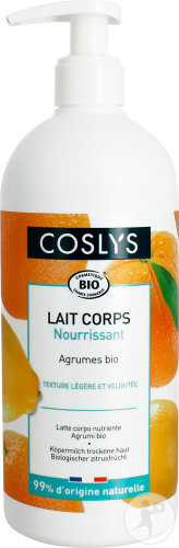 COSLYS Lait nourrissant corps BIO - 500 ml